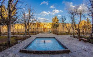 حیاط مجموعه بقعه شیخ صفی
